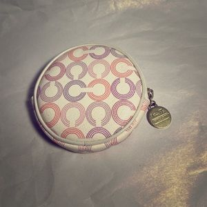 Authentic COACH Coin Purse Pink Purple Branded